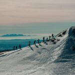 Raquetes de neu a La Molina